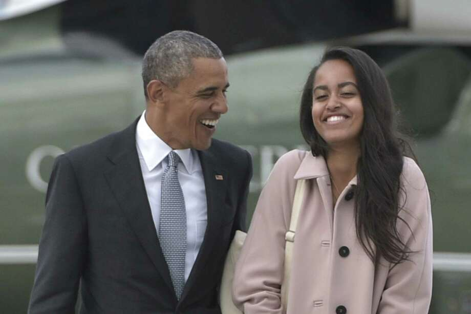 Malia Obama has chosen to attend Harvard, where both of  her parents went to law school. Photo: MANDEL NGAN, Staff / AFP or licensors