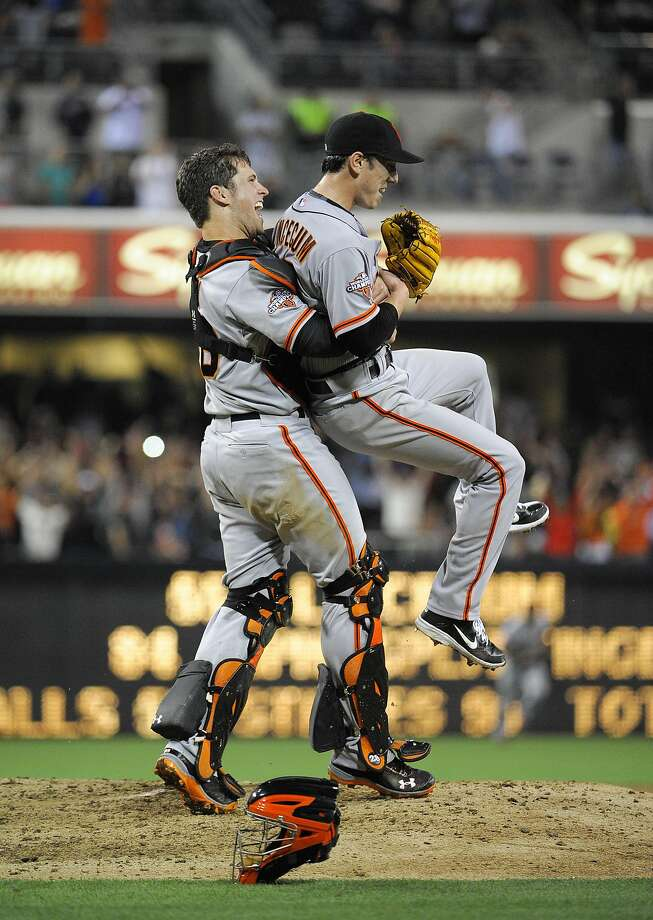 Will Tim Lincecum ever have a shot at another Buster Hug? The answer could come soon after Lincecum's desert showcase Friday. Photo: Denis Poroy, Getty Images