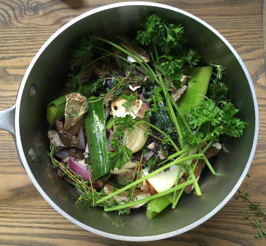 Ingredients for vegetable stock. Photo: Amanda Gold