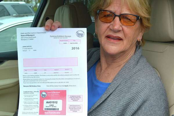 Gene Caputo has purchased seasonal parking permits for Westport's beaches annually over 36 years.
