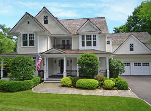 The property at 374 Greens Farms Road was recently sold for $1.7 million.