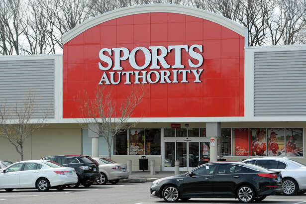 The Sports Authority at 4543 Main St. in Bridgeport, Conn.