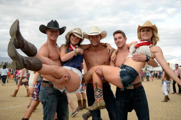 Shirtless fake cowboys are cool until about 8 p.m. when they're all drunk and sweaty.
