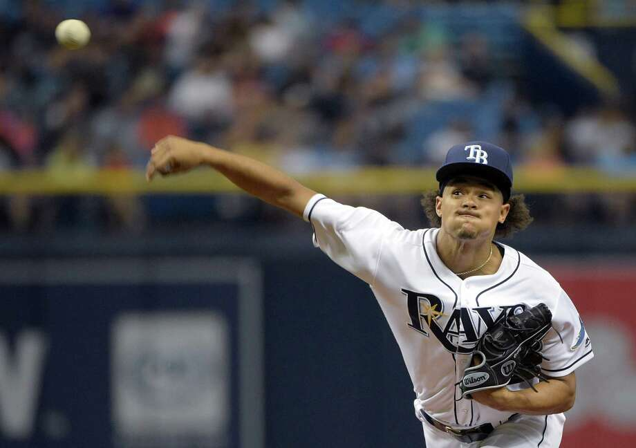 The Astros will face Chris Archer and the Rays in a three-game series that starts Friday. Photo: Phelan M. Ebenhack, Associated Press / FR121174 AP