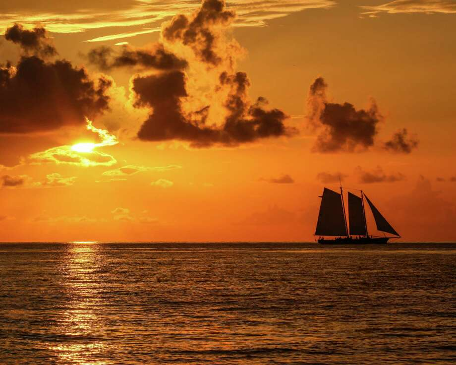 Charter one of Key West's historic schooners for a sunset cruise for breathtaking views of the setting sun. Photo: S.L.Ebert