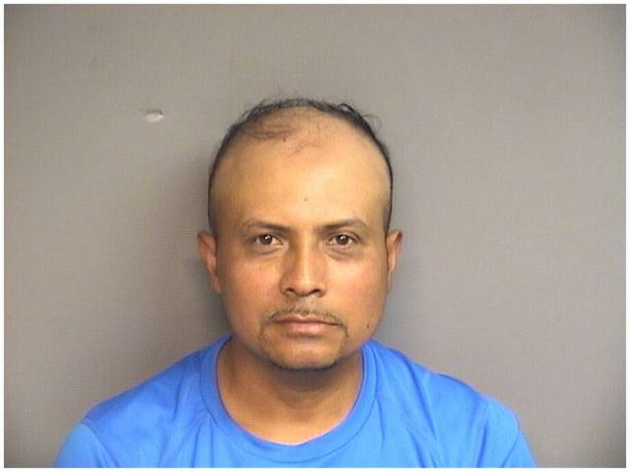 Roberto Diaz, 44, of Stamford, was charged with domestic rape and first-degree assault on Thursday. Photo: Stamford Police / Contributed