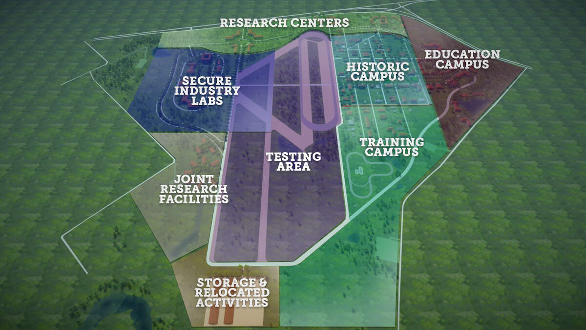 Texas A&M University is spending an estimated $150 million to build a 2,000-acre research and education campus just west of its College Station location. Officials released these renderings on May 2, 2017, the same day it announced the project. Officials believe the campus will be open by 2018.