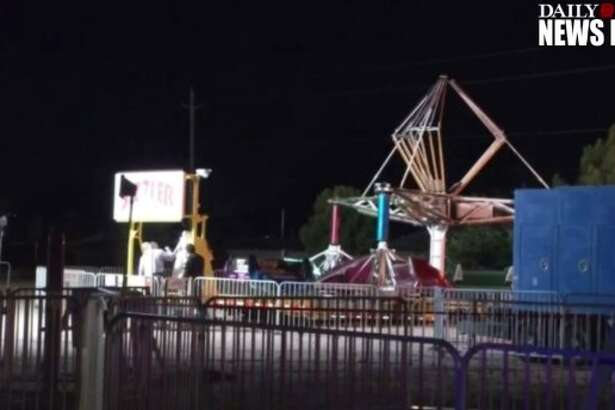 """Samantha Aguilar, 16, was on a ride called the """"Sizzler"""" at a church carnival in El Paso before she was ejected from her seat and killed, multiple media reports said."""