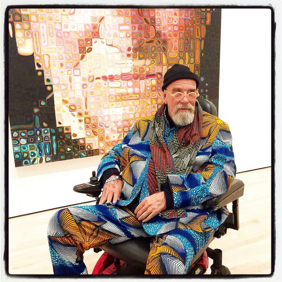 An appellate court rejected a lawsuit by artist Chuck Close and other plaintiffs to affirm art resale royalties. Photo: Catherine Bigelow / Special To The Chronicle 2016