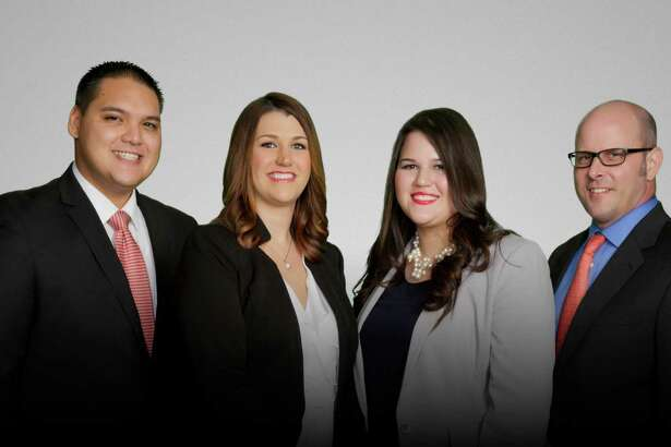 The relocation team at Martha Turner Sotheby's International Realty includes, from left, Leon Ortiz, relocation coordinator; Tess Chaney, relocation director; Jennifer Dent, lead relocation coordinator; and Clay Crawford, relocation coordinator.