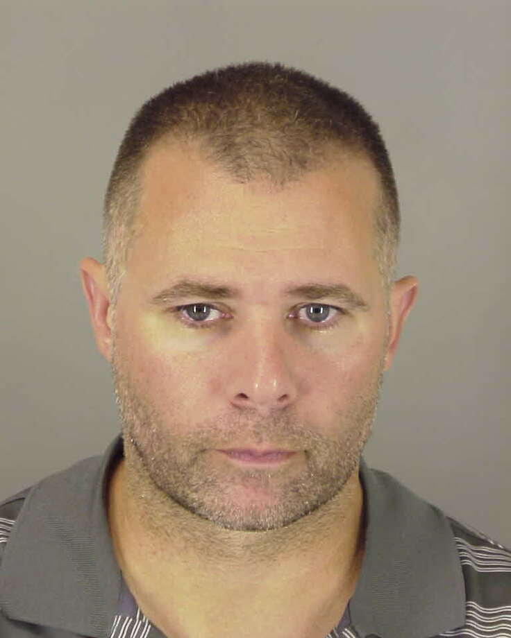 Michael Jon Gelagotis, 43, of Beaumont, was sentenced  to 10 years in prison for impersonating a police officer. Photo: Jefferson County Sheriff's Offic