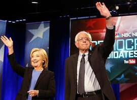 Democratic presidential candidates Hillary Clinton and Bernie Sanders, shown at a debate earlier this year in Charleston, S.C., face off next Tuesday in Connecticut's primary.