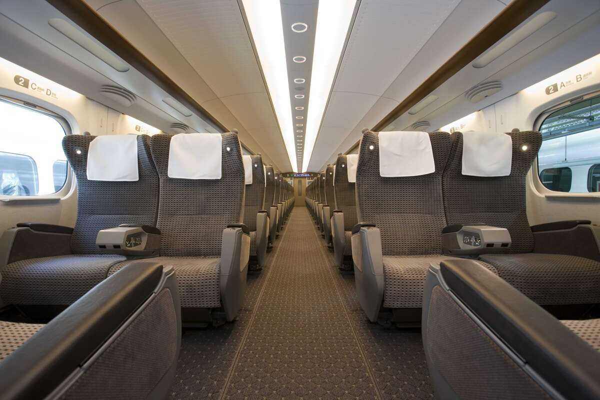 Texas Central officials have said seating on the train will be ADA-compliant, and similar in size to first class airline seats.