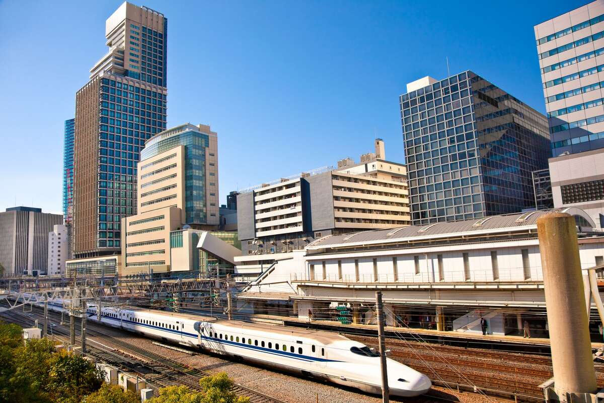 Houson-Dallas bullet train Texas Central Partners said the train will likely use elevated tracks in urban areas, such as Dallas, shown in the rendering.