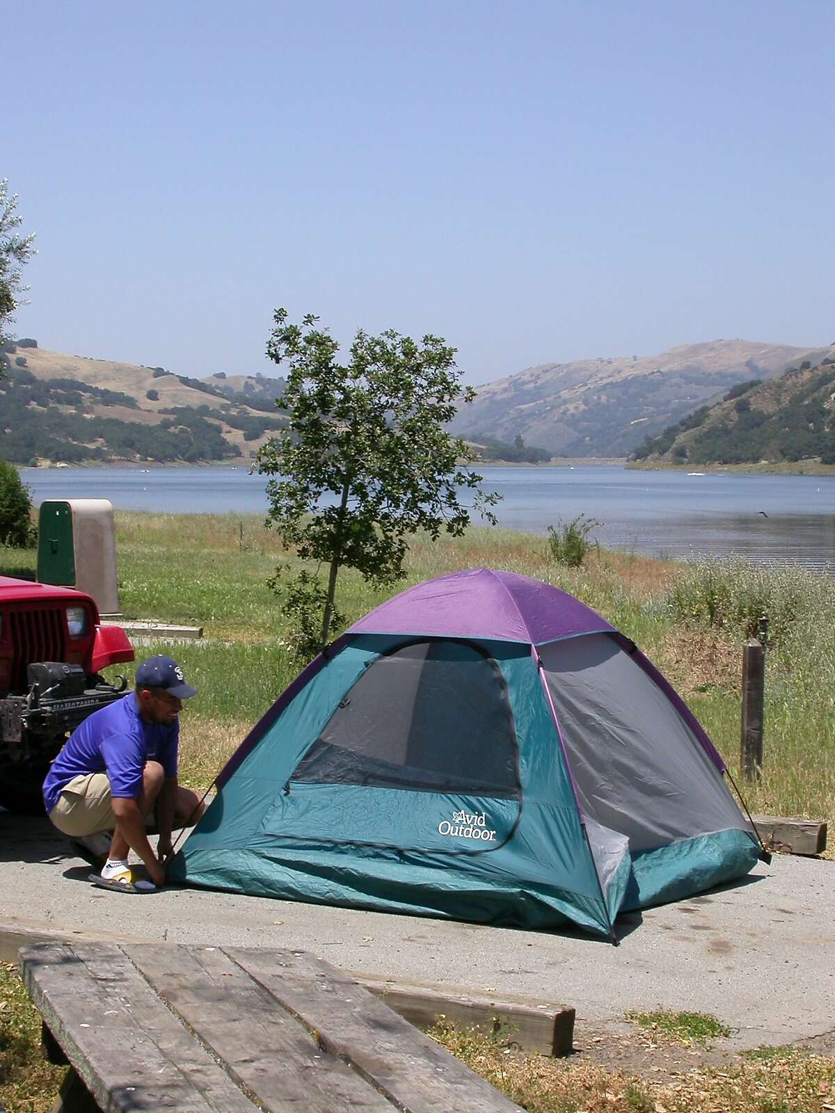 20. Coyote Lake County Park, Gilroy: Campsites are set on a terrace overlooking the southern end of the lake. You can park your boat on shore within walking distance. Not quite Golden Pond, but for the Bay Area, not too shabby.