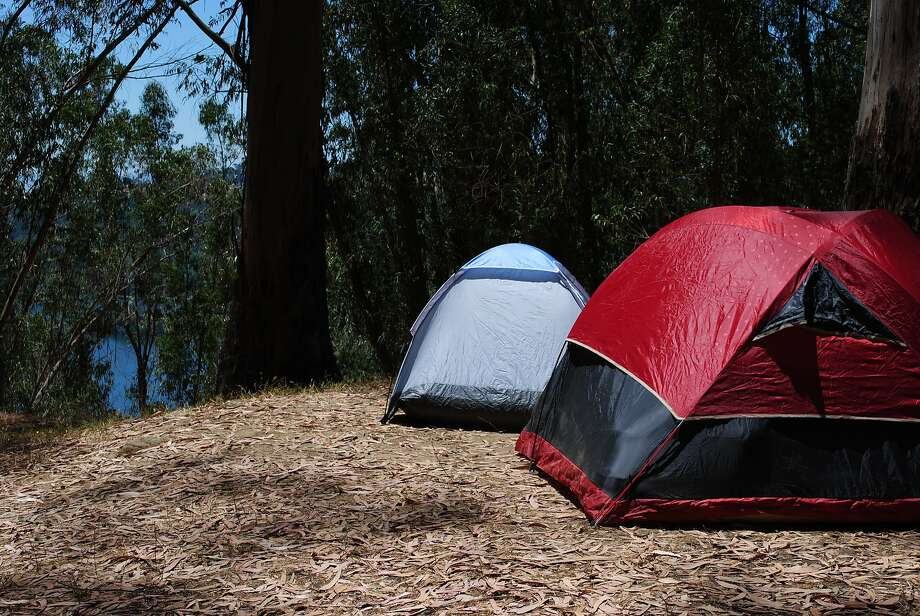 Walk-in campsites at Anthony Chabot Regional Park above Castro Valley. Photo: Shelly Lewis
