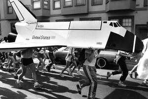 San Francisco Bay to Breakers,  May 17, 1981.