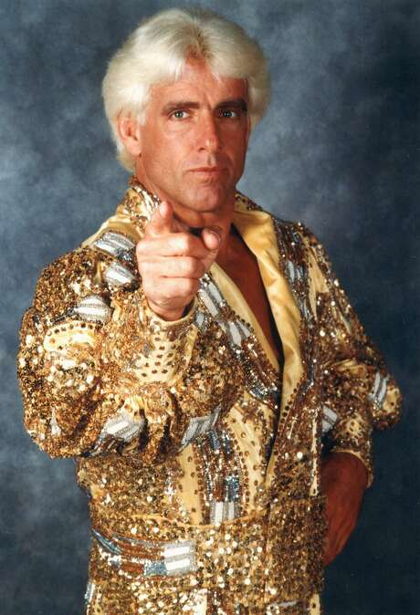 "Ric ""Nature Boy"" Flair Photo: JEFF SINER, MBR / THE CHARLOTTE OBSERVER"