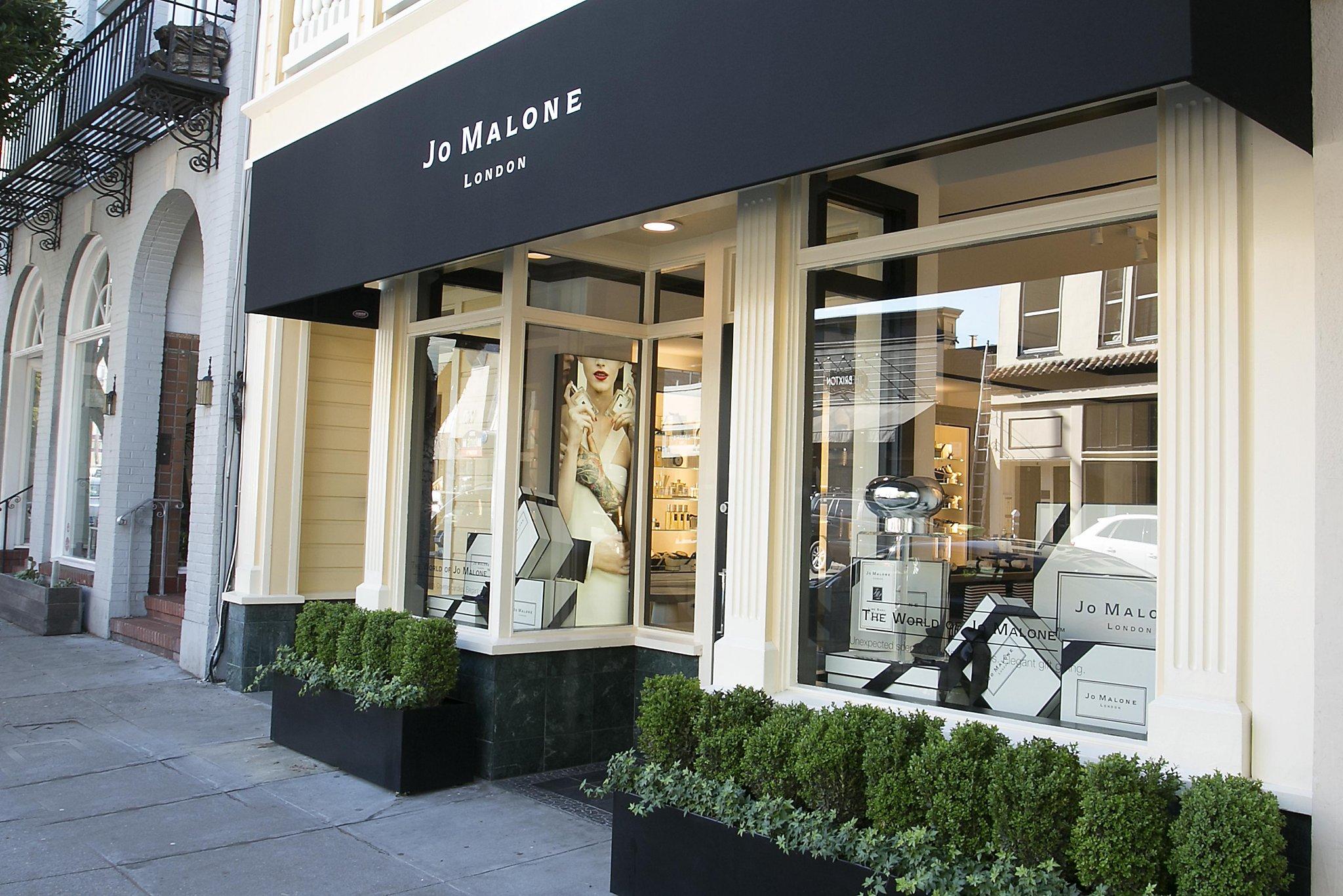 Jo malone london british perfumery opens in sf san for Window design jobs london