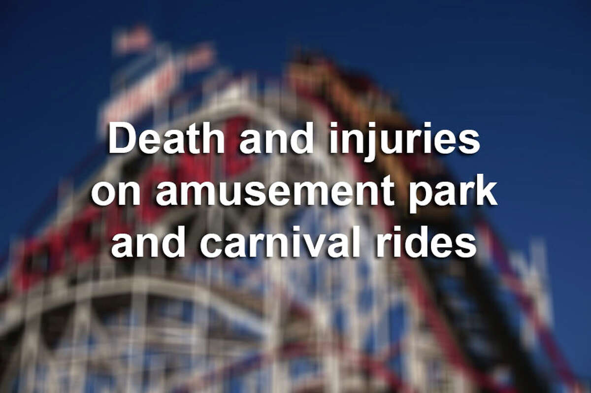 Scroll ahead to learn more about death and injuries reported on amusement park and carnival rides.