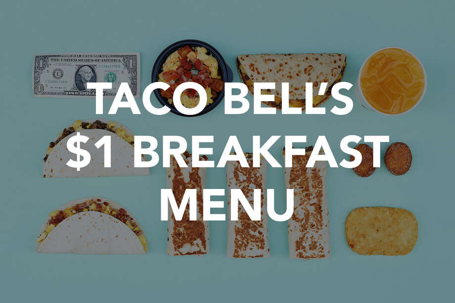 I tried every single item on Taco Bell's value breakfast