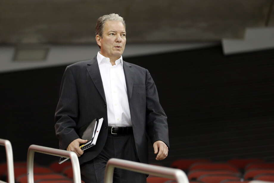 New Jersey Devils general manager Ray Shero attends his team's NHL hockey training camp, Friday, Sept. 18, 2015, in Newark, N.J. (AP Photo/Julio Cortez) ORG XMIT: NJJC110 ORG XMIT: MER2015091815282578 Photo: Julio Cortez / AP