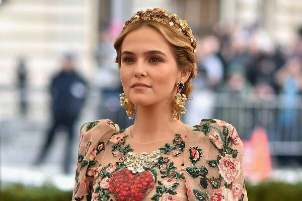 Worst: Zoey Deutch   The sheer volume of flowers in this dress is making our eyes watery.