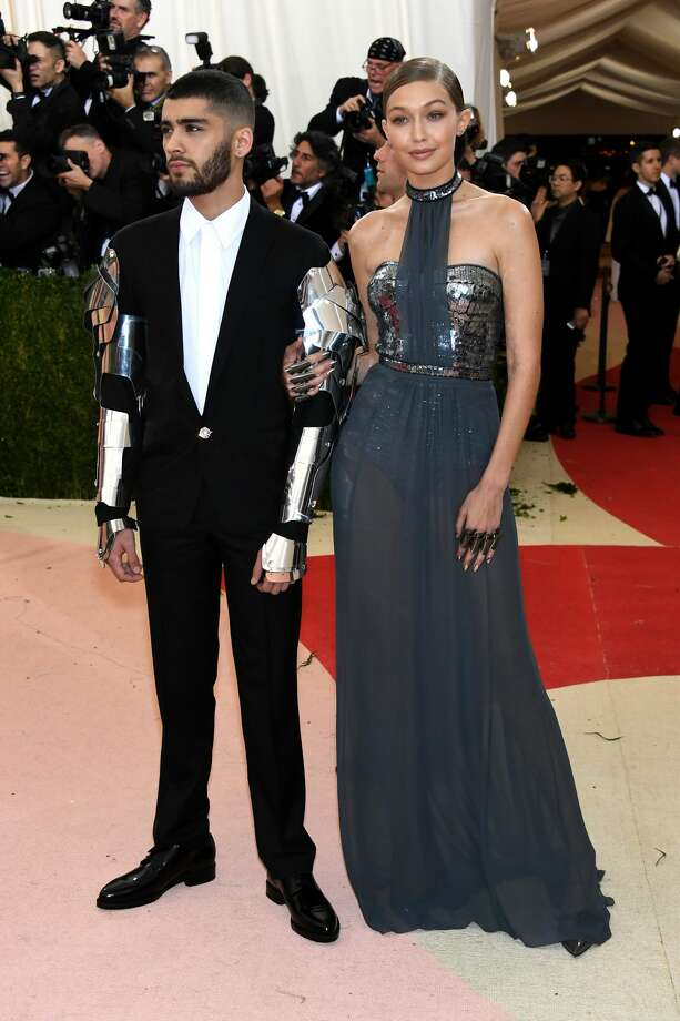 Best: Gigi Hadid and Zayn MalikWe are going to follow this Queen of Outer Space and her half-man, half-machine. They will protect us. Photo: Getty Images