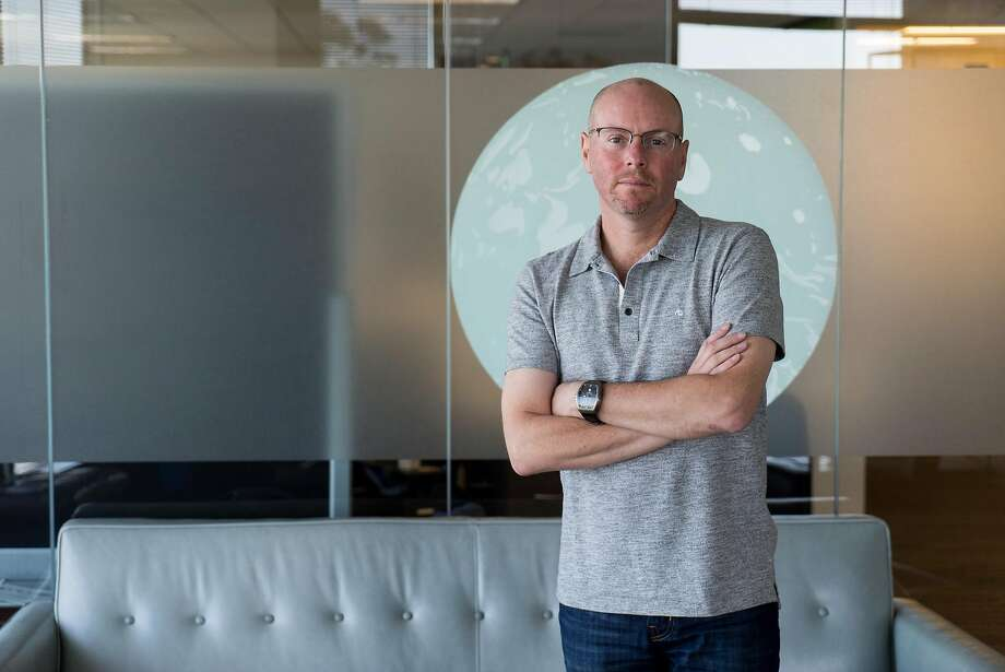 Netsuite Founder Evan Goldberg, shown at his office in San Mateo in May 2016. Goldberg donated $10 million to create the BRCA Foundation. Photo: James Tensuan, Special To The Chronicle