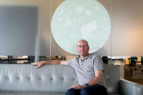Netsuite Founder Evan Goldberg poses for a photograph at his office in San Mateo, Calif. on Monday, May 2, 2016. Goldberg has donated $10 million to create the BRCA Foundation.