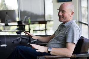 Netsuite Founder Evan Goldberg speaks with the San Francisco Chronicle at his office in San Mateo, Calif. on Monday, May 2, 2016. Goldberg has donated $10 million to create the BRCA Foundation.