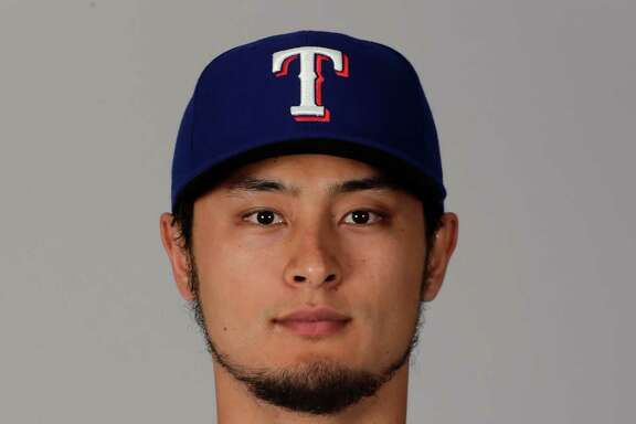 This is a 2016 photo of Yu Darvish of the Texas Rangers baseball team. This image reflects the Texas Rangers active roster as of Sunday, Feb. 28, 2016, when this image was taken. (AP Photo/Charlie Riedel)