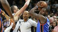 NBA officiating report: Refs missed 8 calls in Spurs-OKC game - Photo
