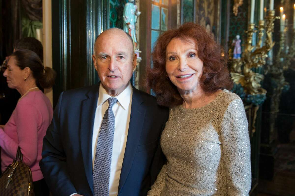 Jerry Brown, Ann Getty