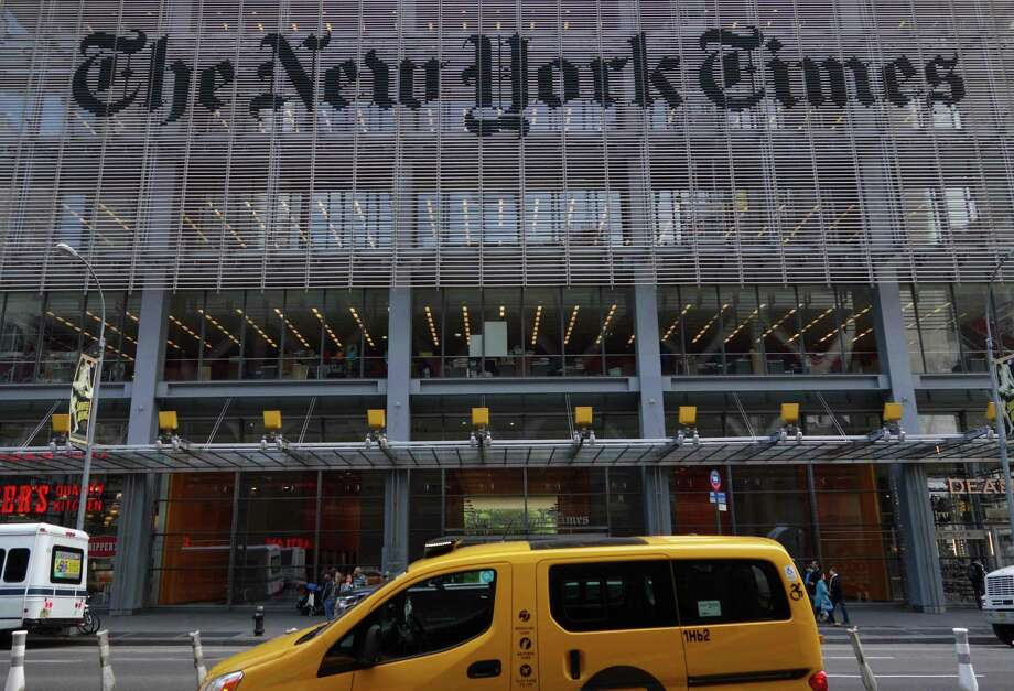 New York Times Co.'s first-quarter earnings beat analysts' estimates on a surge in digital subscribers. Photo: DON EMMERT /AFP /Getty Images / AFP or licensors