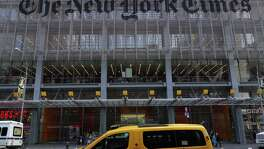 New York Times Co.'s first-quarter earnings beat analysts' estimates on a surge in digital subscribers.