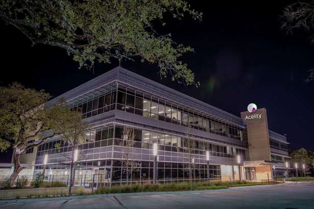 Acelity employs 1,500 people at its San Antonio headquarters. The medical technology company has more than 5,800 employees worldwide. Acelity was founded in 1976 as Kinetic Concepts Inc.