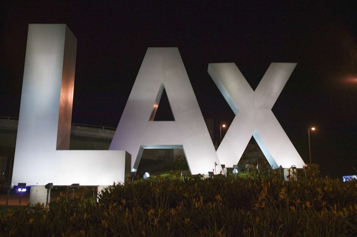 With all the celebrities that come through, it's no wonder that the Los Angeles International Airport (LAX) has two comfortable pet areas that come with a dog house, plastic bags and trash cans.