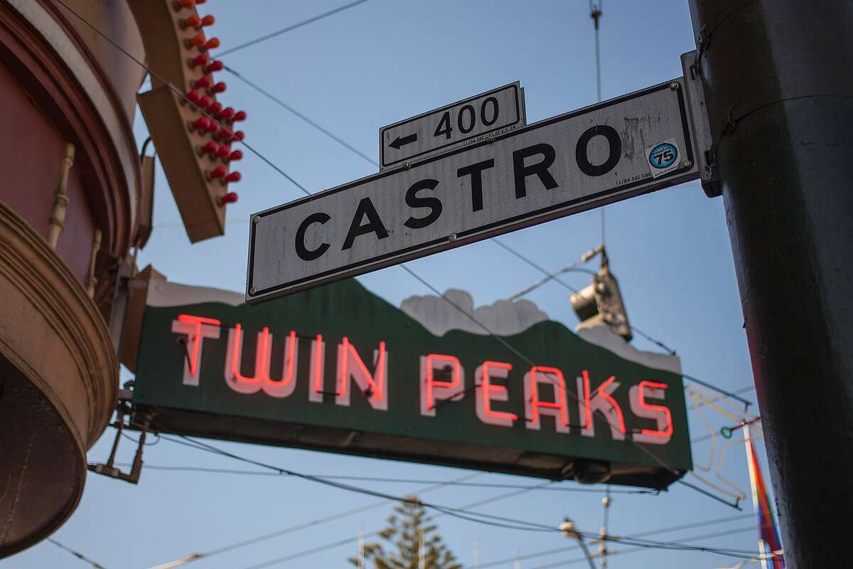 The sign of the Twin Peaks Tavern in the Castro district on October 10, 2013 in San Francisco, United States.