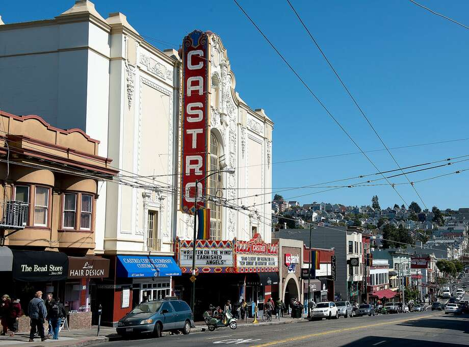 The Castro District, a neighborhood in Eureka Valley in San Francisco, California. Photo: Buyenlarge, Getty Images