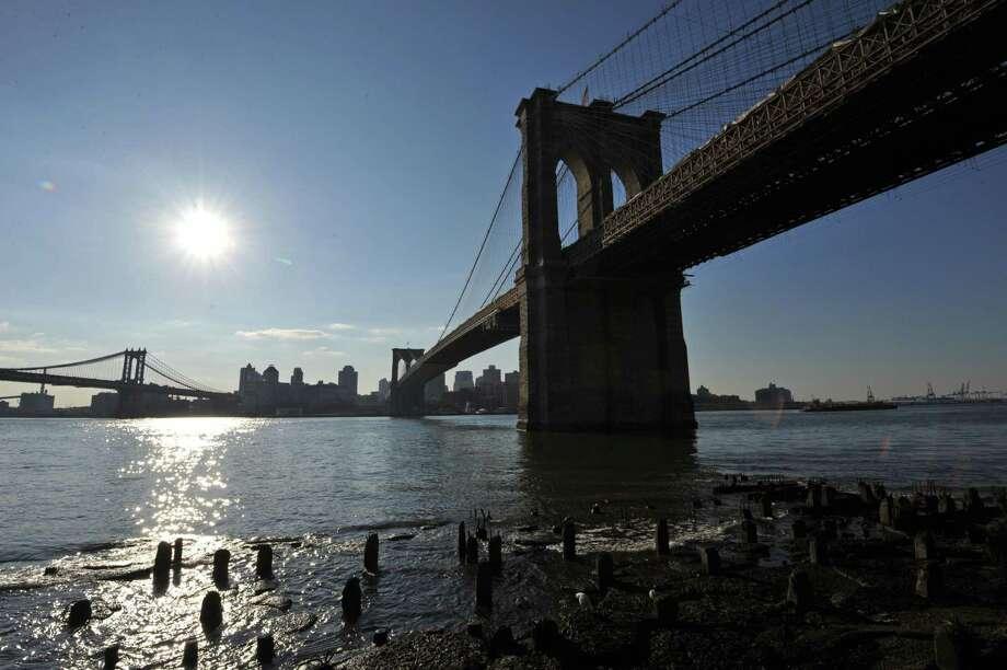 The Brooklyn Bridge. Photo: Stan Honda / Getty Images / AFP or licensors