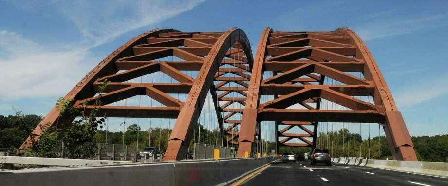 The Twin Bridges. (Will Waldron / Times Union) Photo: Will Waldron