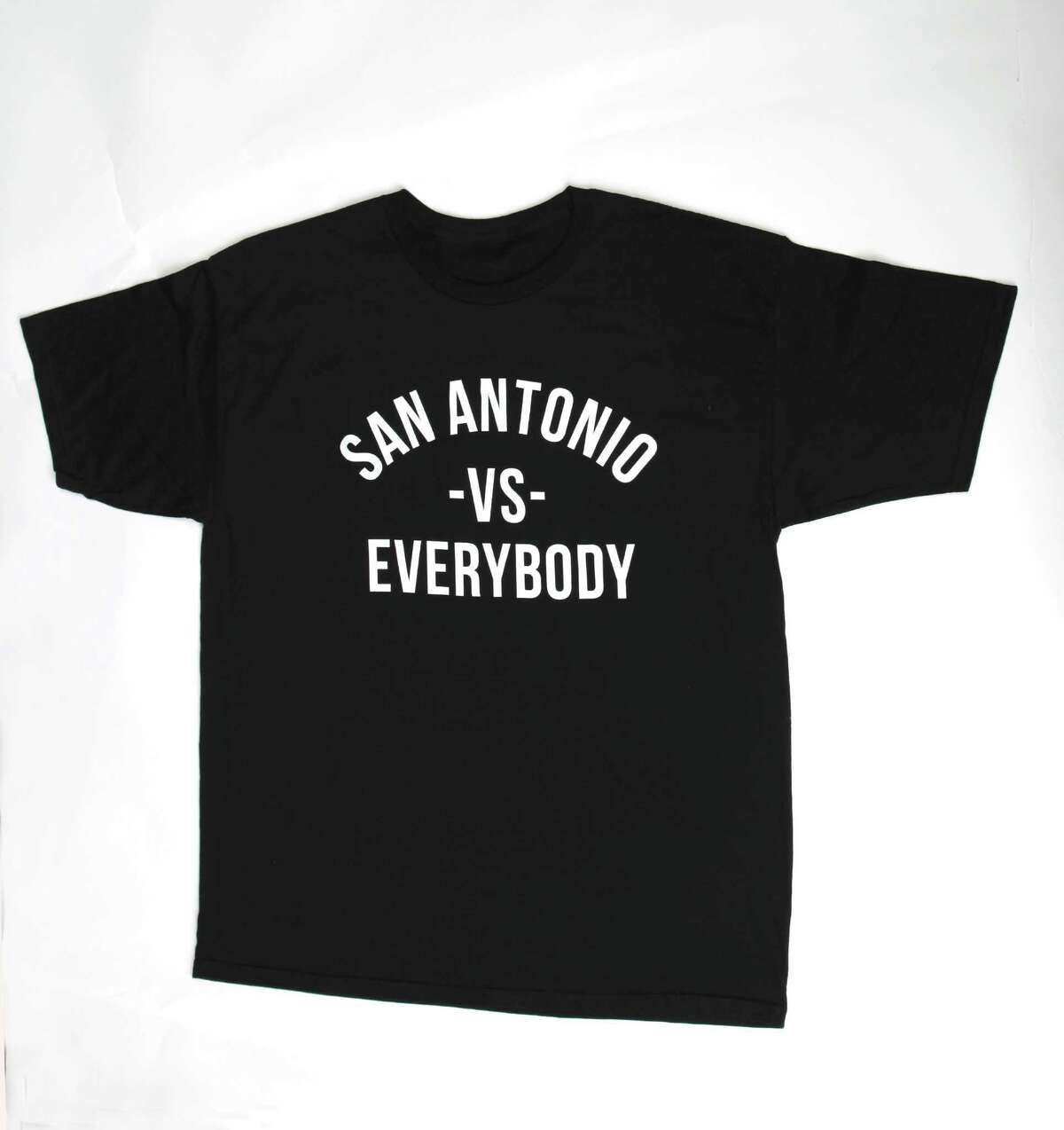 San Antonio Vs Tee ($24.99 at Sole Boutique, 201 NW Loop 410 and @soleboutique on Instagram, 210-822-7653). Ever get that ?