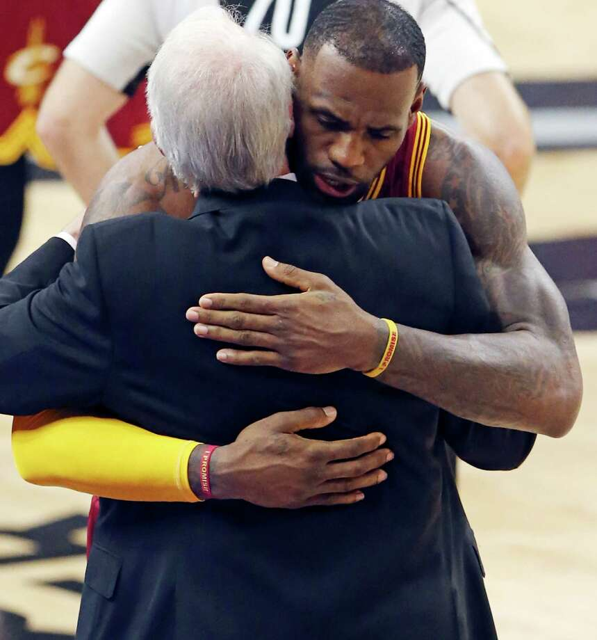 LeBron James calls Pop greatest coach in National Basketball Association history