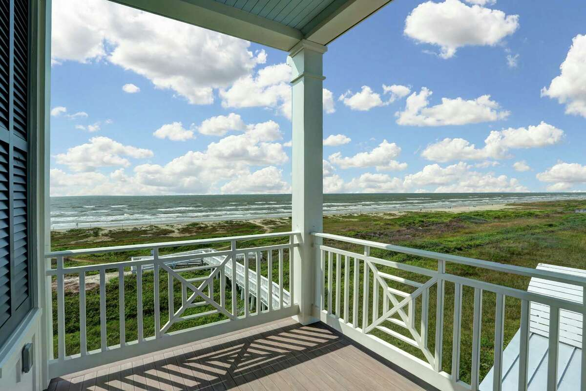 The balconies of Beachtown homes boast a spectacular view of the ocean.