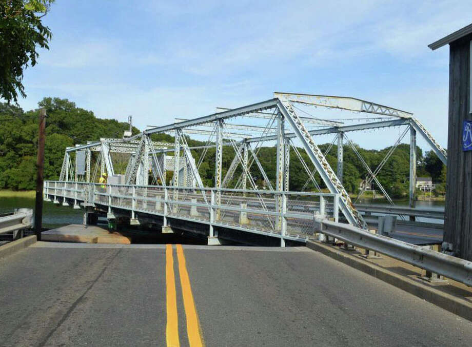 The state transportation expects to issue its  detailed study on the condition of the historic Saugatuck swing bridge in May. Photo: File Photo / Westport News