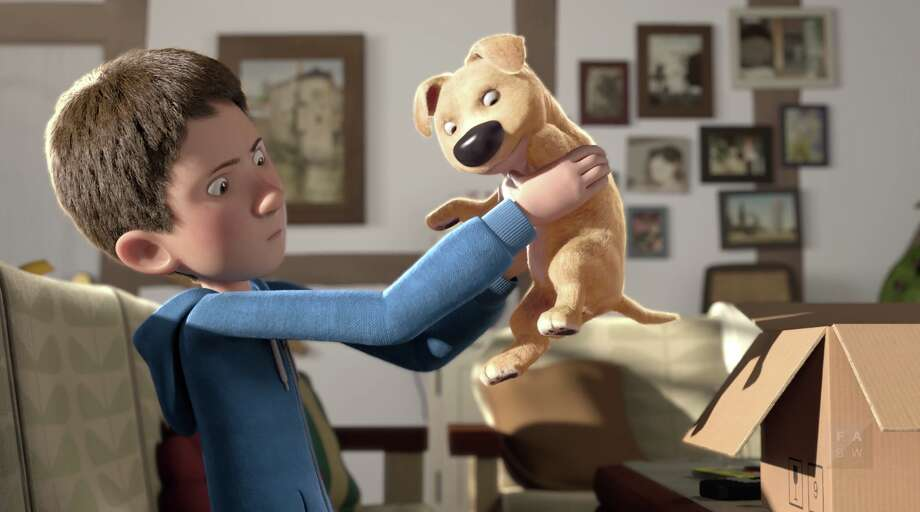 """""""The Present"""" follows the story of a boy and his new puppy."""