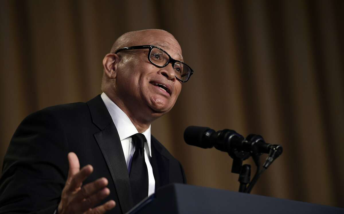 FILE - In this April 30, 2016 file photo, Larry Wilmore speaks at the annual White House Correspondents' Association dinner in Washington. Wilmore says his