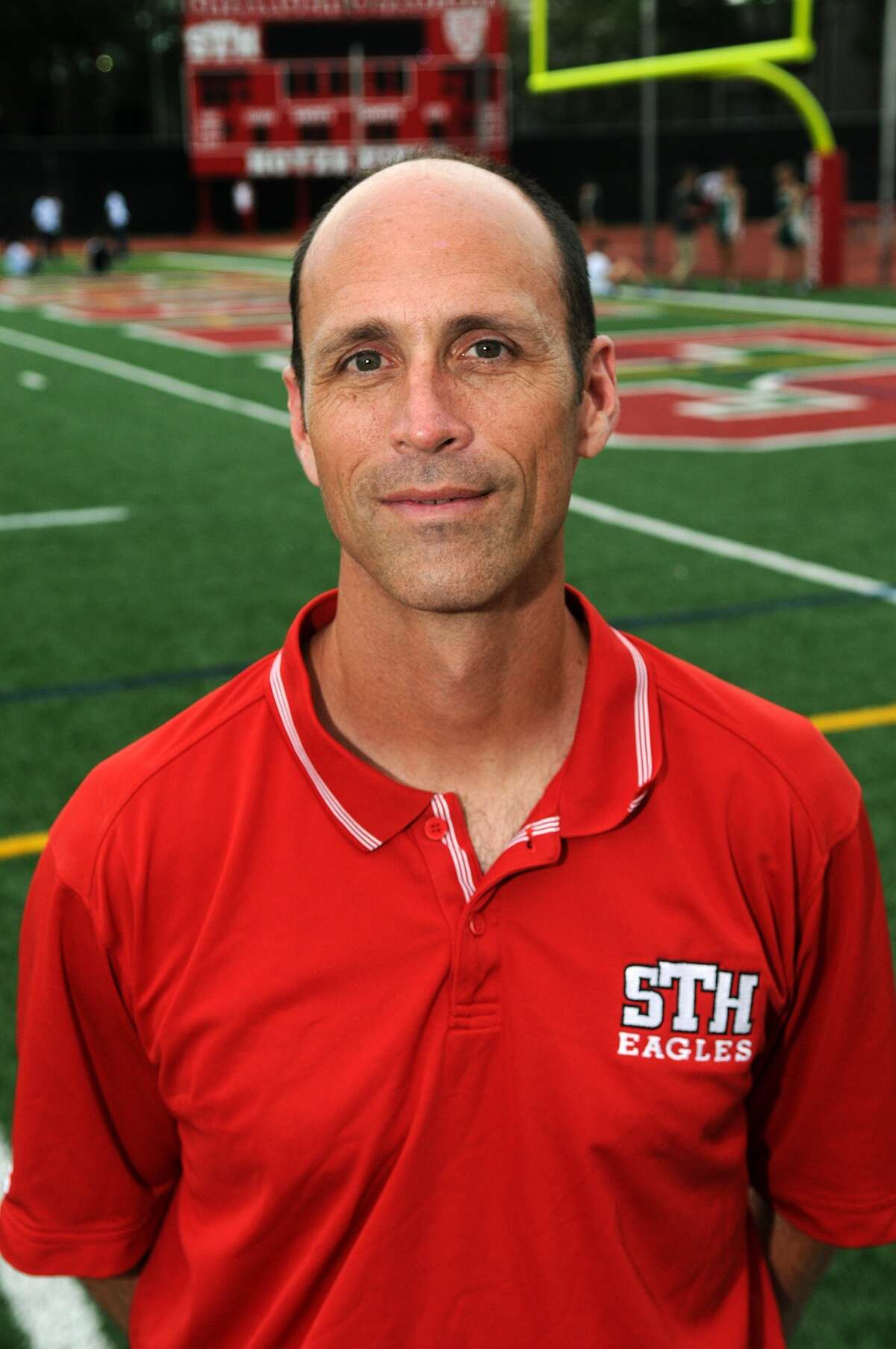 St. Thomas Head Track Coach Nathan Labus