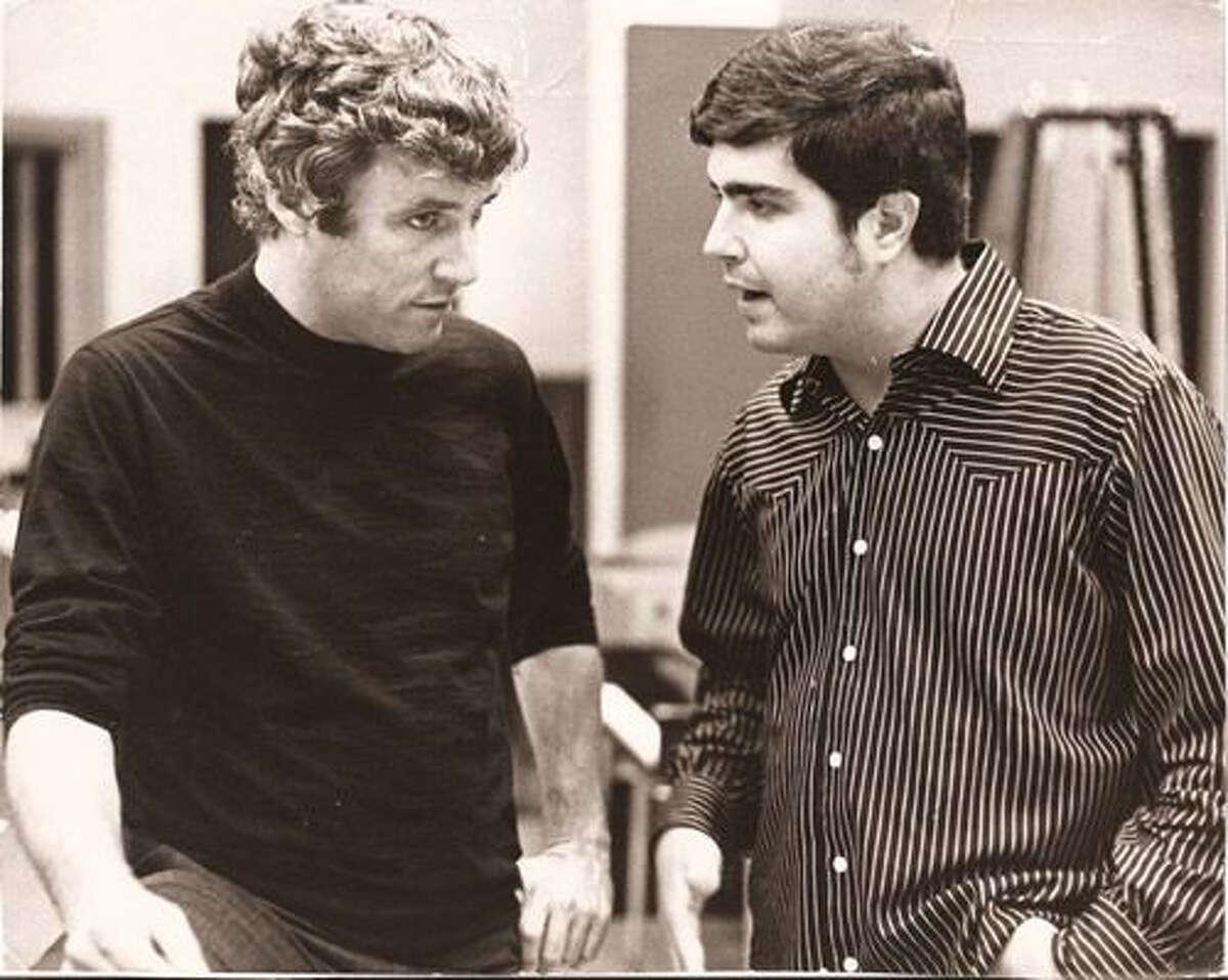 1960s - (l-r) Burt Bacharach and Steve Tyrell